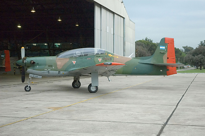 Aviones de la Fuerza Aérea Argentina