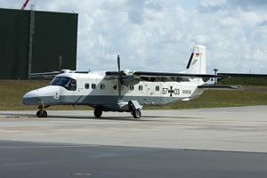 A Dornier 228 plane.