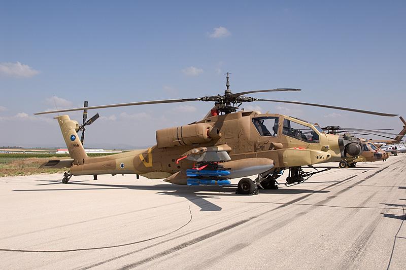 Aviation Collectibles Ah-64a Apache Israeli